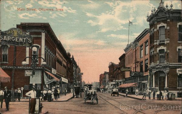 Main Street Ottumwa, Iowa, Recognized