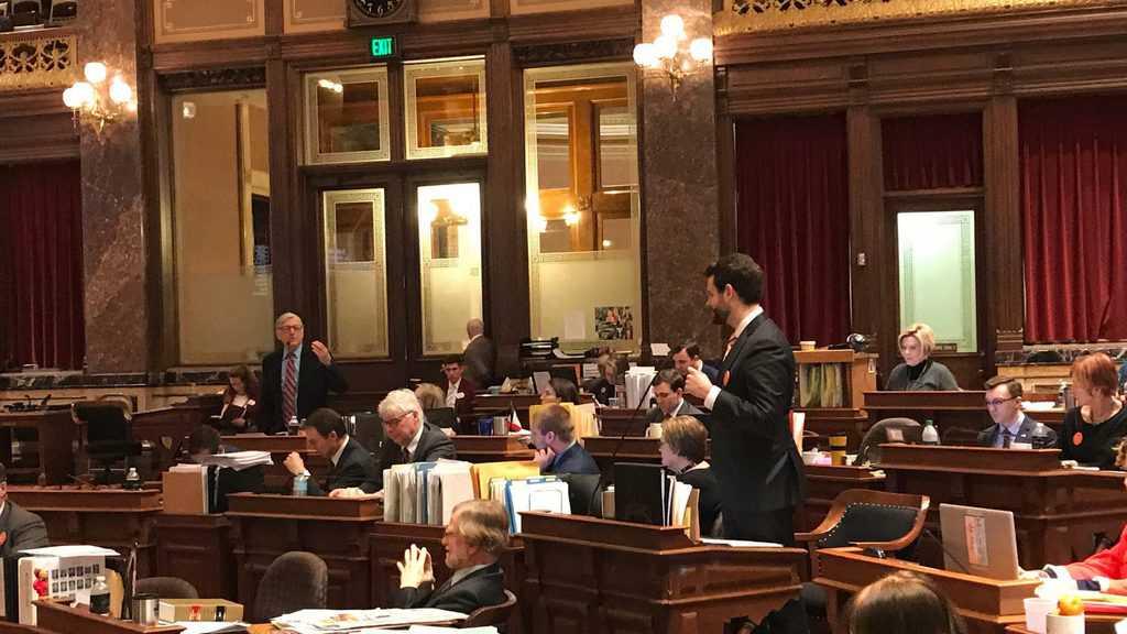 b ee d  dcfe Iowa Senate gun amendment debate