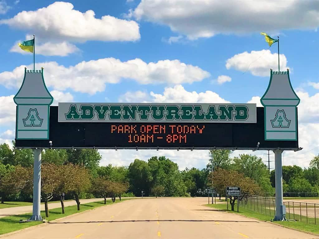 Discover Adventureland in Des Moines Iowa