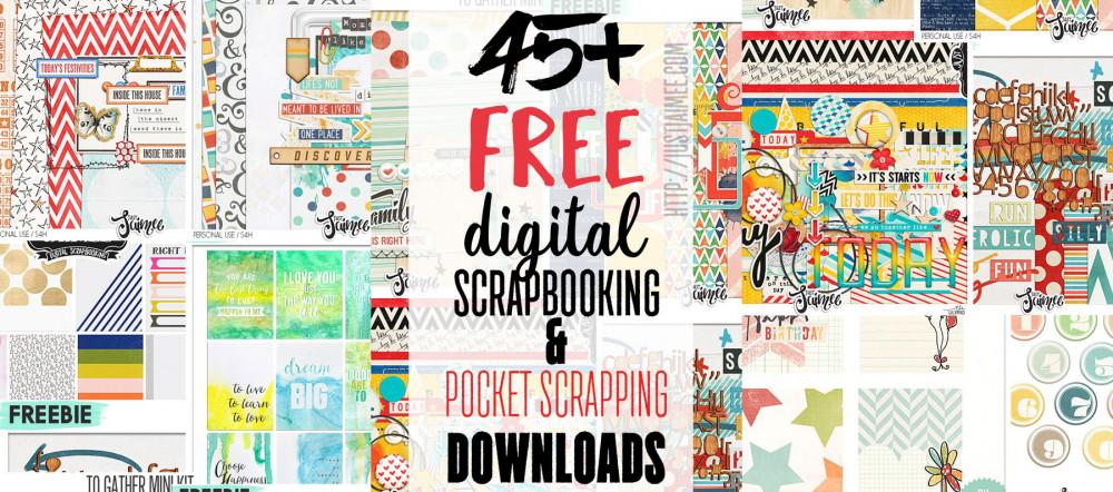 free digital scrapbooking project life downloads