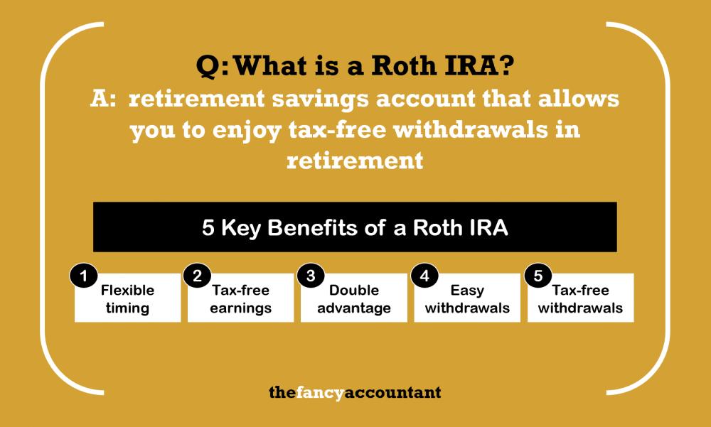 benefits of roth ira