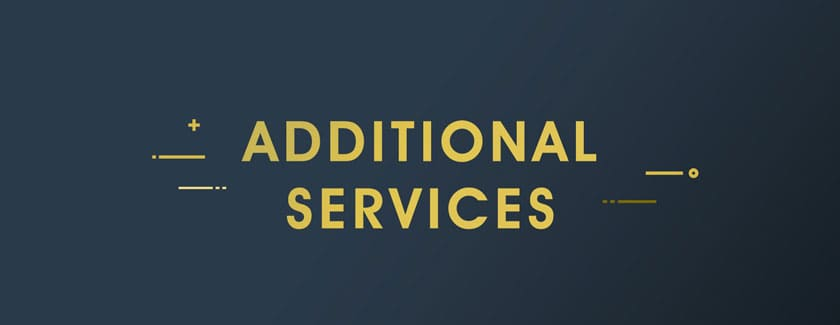 Additional Services Rome