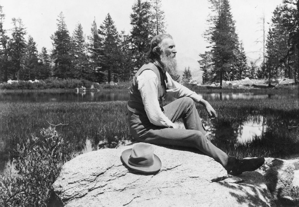 American Scottish naturalist writer forest conservation advocate