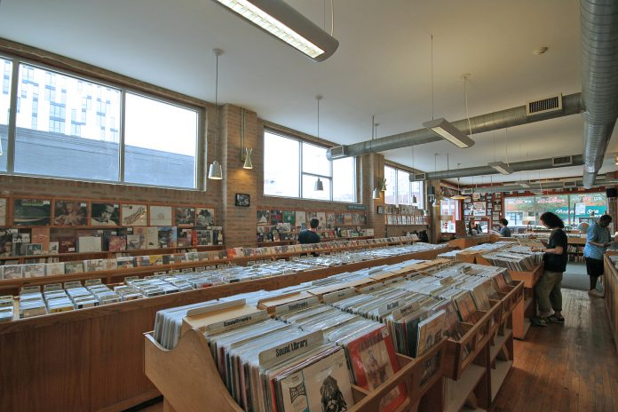 Dusty Groove Store Interior
