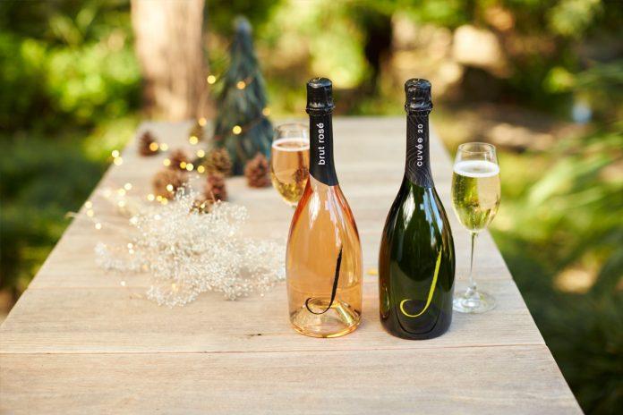 J Vineyards Brus Rose and Cuvee  Holiday