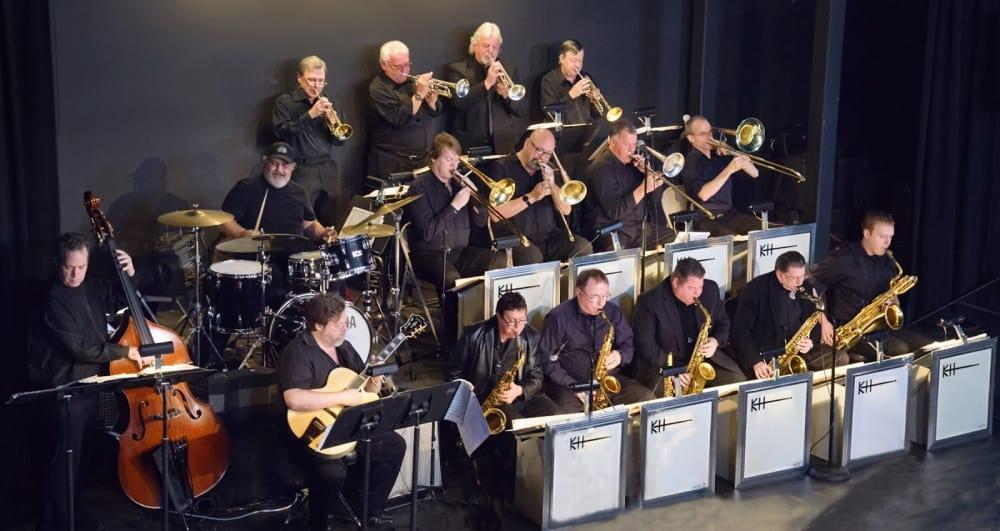 Kenny Hadley Big Band at THE BLACK BOX