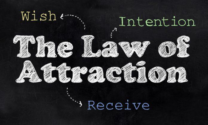 Law of Attraction chalkboard
