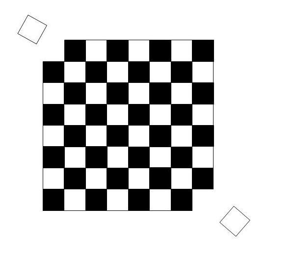 Mutilated checkerboard
