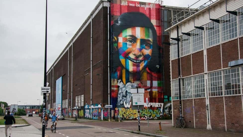 NDSM Anne Frank Street Art Graffiti Mitch Altman via Flickr