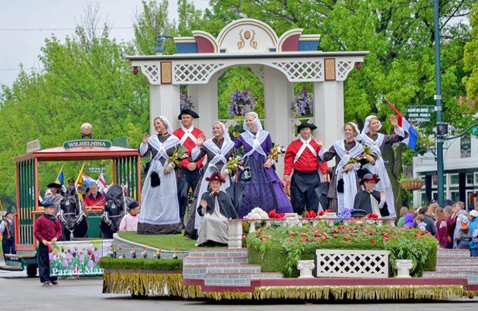 Tulip Event Hero parade