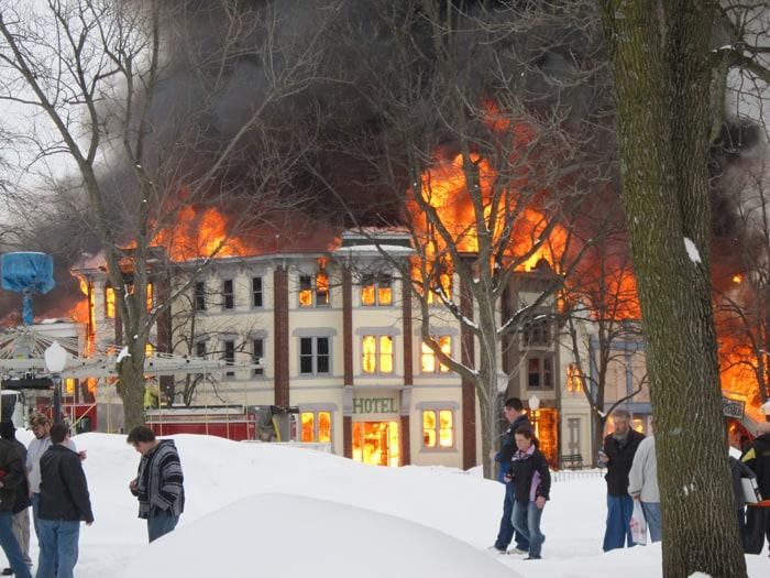 adventureland fire