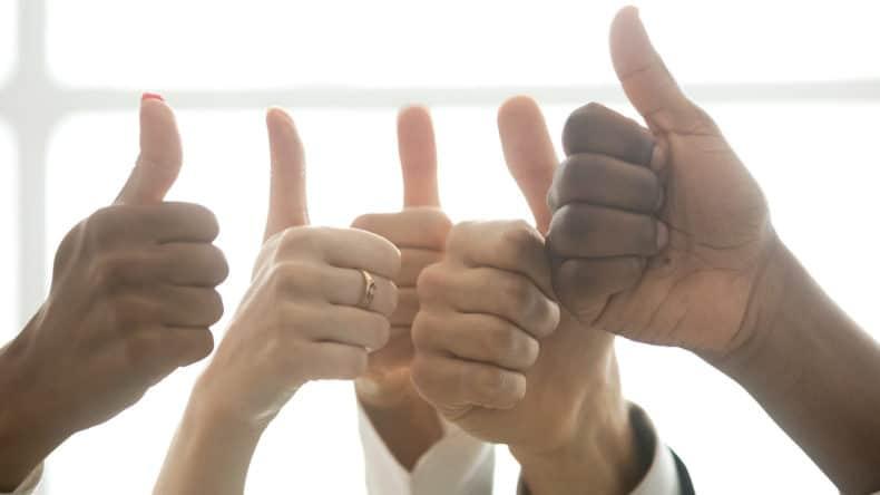 bigstock Hands Of Diverse Business Team  e