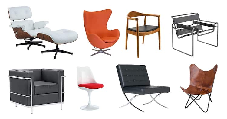famous design chairs to own interior design architecture my modern met