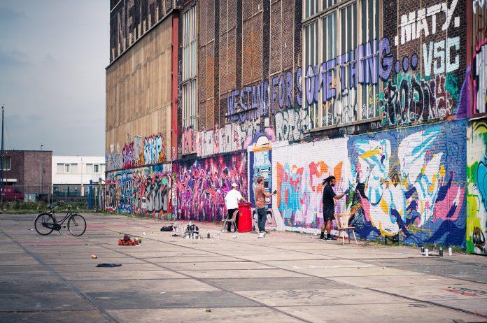 graffiti ndsm werft street art amsterdam original