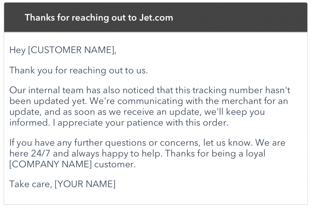 jet customer support email