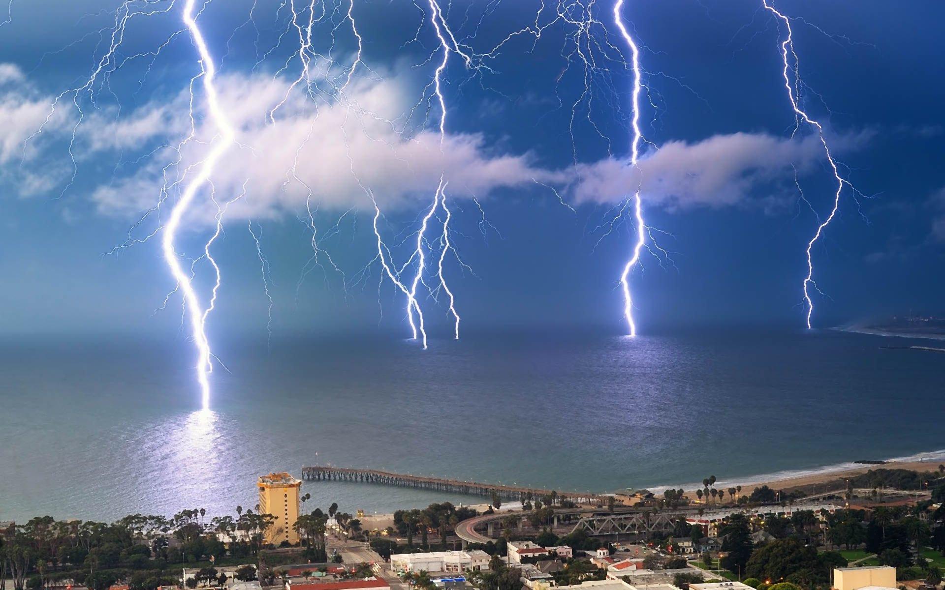 lightning background hd