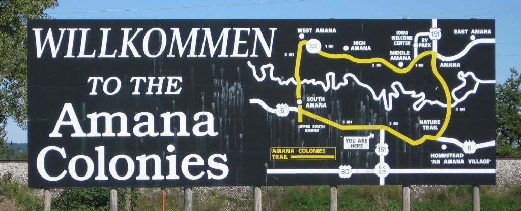map sign