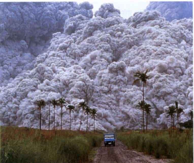 mt unzen volcano world