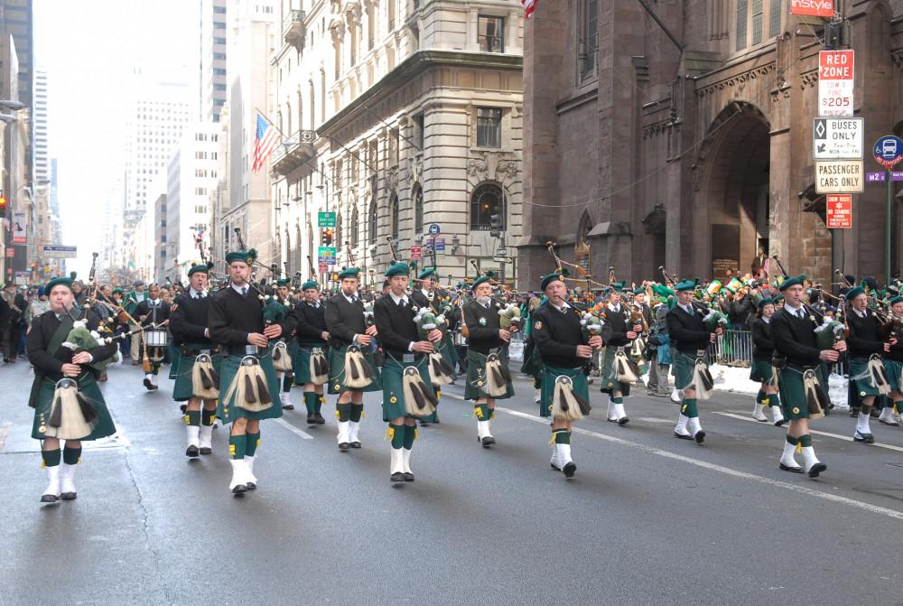 nyc st patricks day parade
