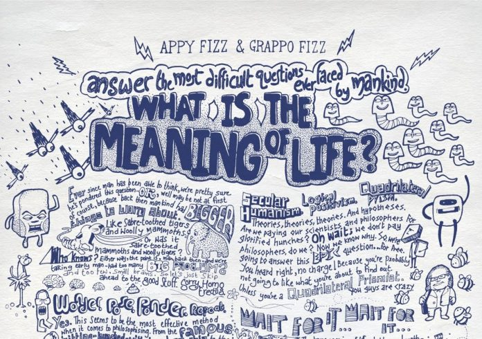 poster meaning of life e