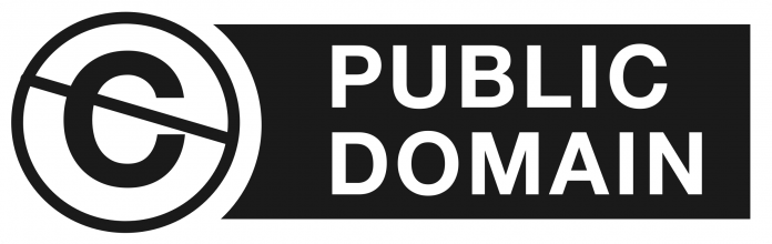 public domain logo streamlined