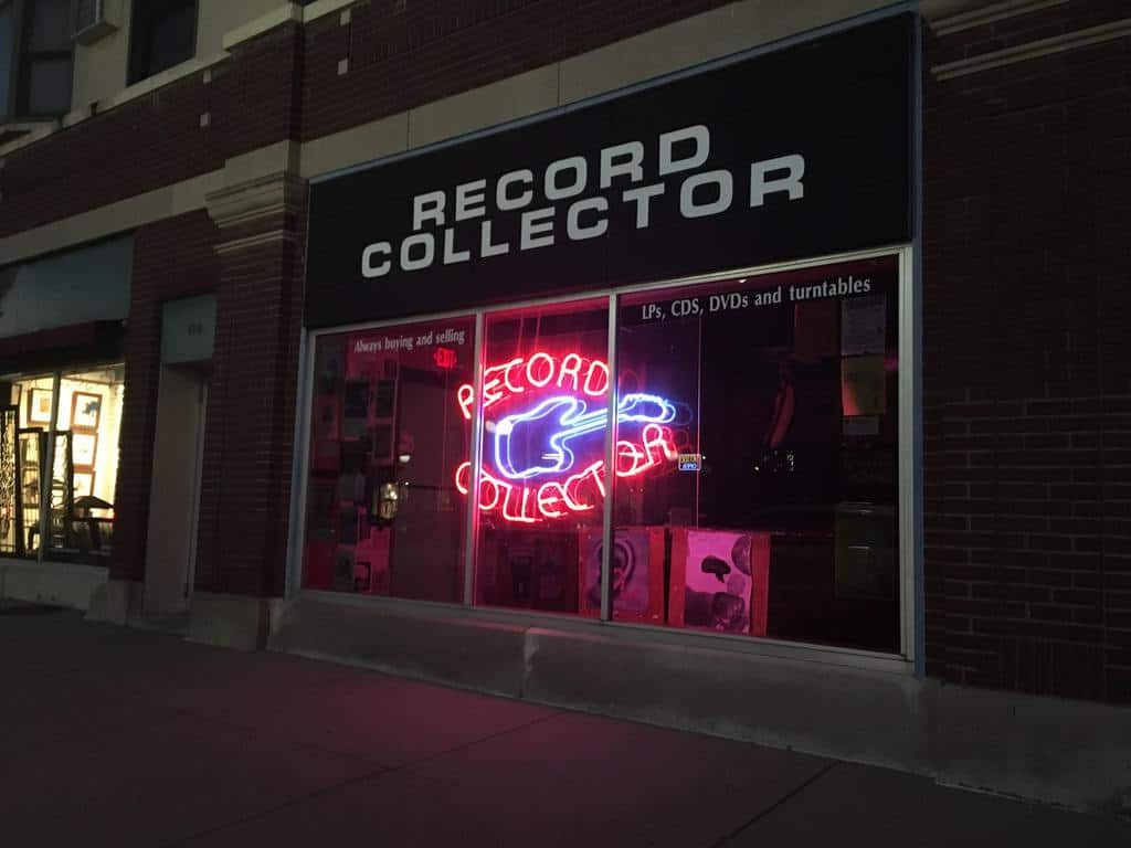 record collector storefront
