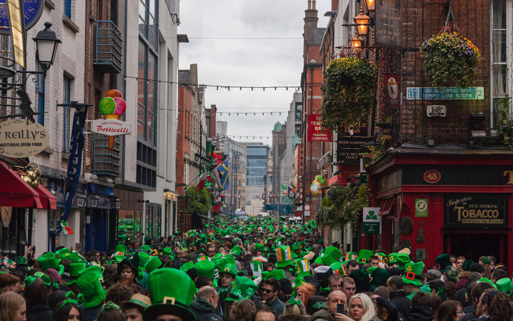 saint patricks day in dublin