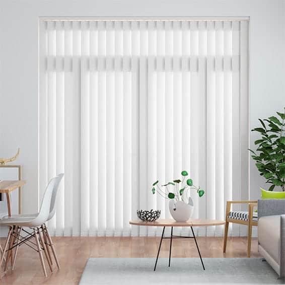 welwyn white  vertical blind
