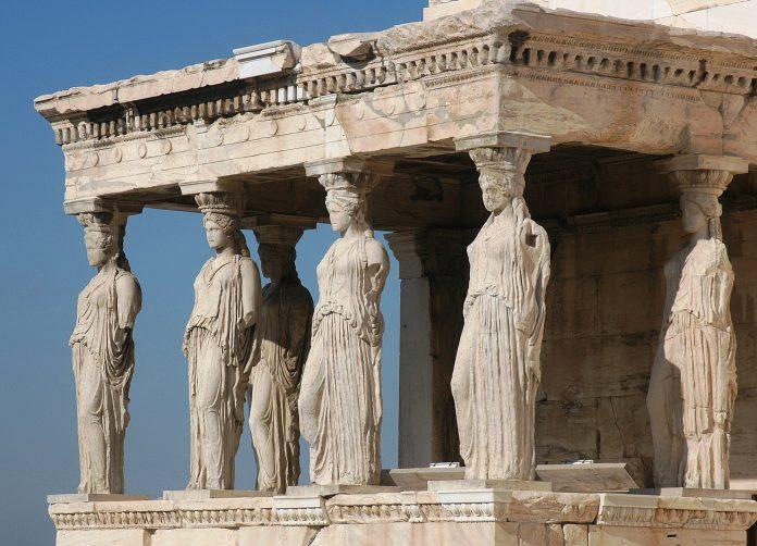 Athenes Acropole Caryatides scaled