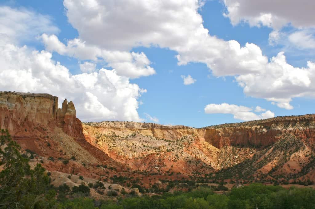 Ghost Ranch redrock cliffs