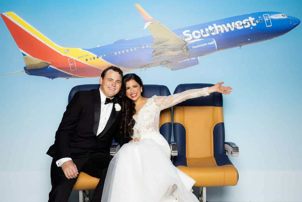 cathlyn michael southwest airlines wedding