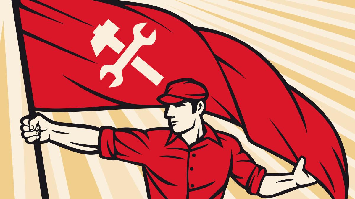socialism flag