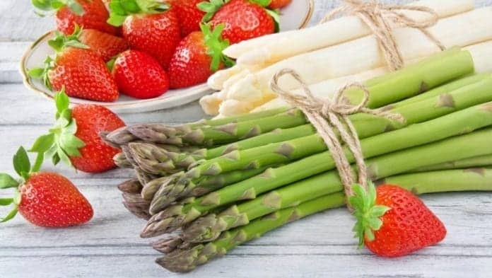 strawberries asparagus PhotoSG adobe stock hero maybe e